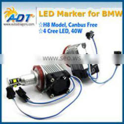 Hot sale E92 H8 40w H8 led car e92 ring marker h8 40w h8 led marker