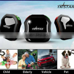 hot selling real time tracking TKSTAR pet GPS Tracker by cell phone and platform with cheap price