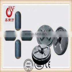 Cast grinding alloy steel balls capsules for cement,mining from China