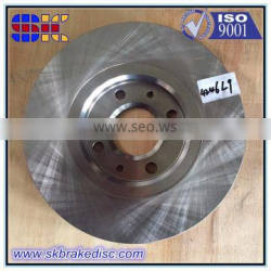 260mm Professional Brake Disc cross hatch for French cars