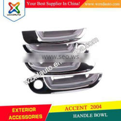 HANDLE BOWL CHROME DOOR HANDLE BOWL INSERTS COVER FOR ACCENT 2004