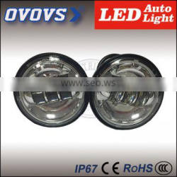 2016 High Quality 30W 10-30V 4.5inch led fog light without halo ring for H-arley