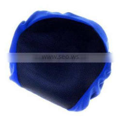 13410 Inflatable travel pillow with fleece cover -rectangular