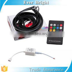 RGB Chassis Lamp with remote control colorful flash 5050 led strip