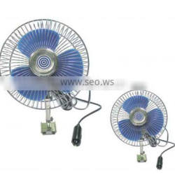 8inch use promotion 12v mini car fan with switch