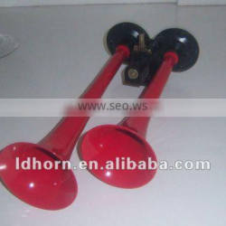 two pipe air Horn truck horn red car horn