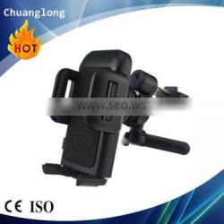 Good quality anti-slip universal one touch release 360 rotating car vent mount