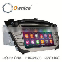 Ownice C200 Android 4.4 up to android 5.1 quad core car gps navigation for Hyundai Tocson IX35 support OBD