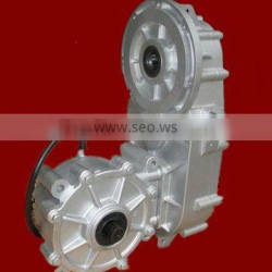 4wd electric 10kw motor drive gearbox