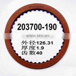 ATX A340E Automatic Transmission 203700-190 friction plate Gearbox automotive friction disc clutch
