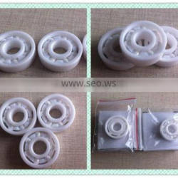 China supplier low noise bearing barbell ceramic roller ball bearing 608