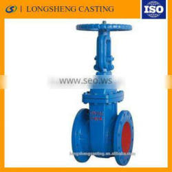 2015 Custom Good quality Low price of Cast iron Steam gate valve