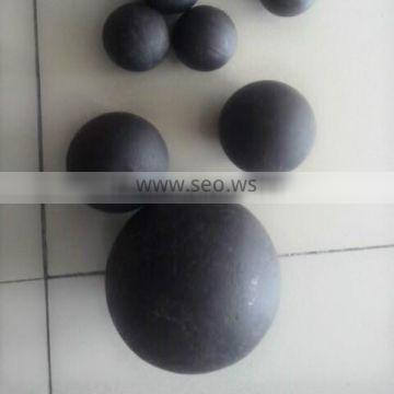 Low wear abrasion grinding steel ball for copper mine