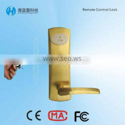 Electronic security euro motise remote door locks for home