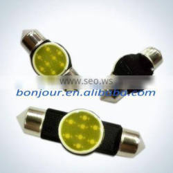 auto plate bulb c5w cob light car
