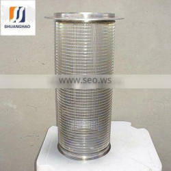 Chinese stainless steel wedge wire mesh filter for water treatment