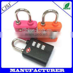 Wholesale Price Factory Direct 3 Code TSA Lock For Luggage Lock