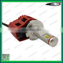 Low power consumption H7 45W 4500lm led auto headlight for renault