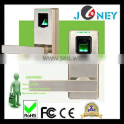 security smart lock with embedded fingerprint recognition technology