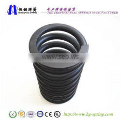 Hot coiled springs,big springs,heavy duty springs manufactuer by you want