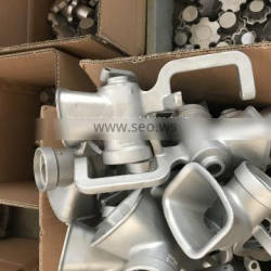 custom-made stainless steel precision casting spare parts for pump and valve