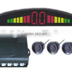 LED parking sensor with 4 sensor,Car rear view system made in China