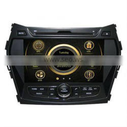 car video gps for hyundai santa fe 2013