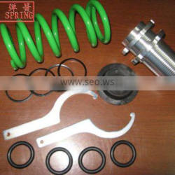 OEM Ground Control Coilover Spring Kit for HONDA green color