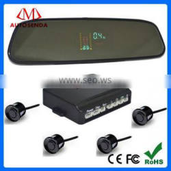 Very beautiful Popular Europe market inside reversing rearview mirorr VFD Parking sensor