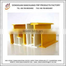 Fiberglass Pultrusion Wide Flange H and I Composite Cross Arms