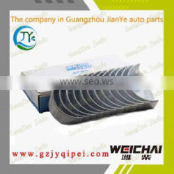 High quality 612600030020/33 weichai power engine parts connecting rod bearing shell group for bus and truck