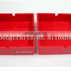 Square Melamine Plastic Ashtray