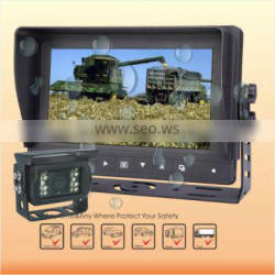 7 inch Lcd Split waterproof Monitor farm equipment camera
