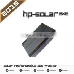 Solar GPS Tracker, rechargeable battery, IP65 case,powerful solar pannel, easy attach, high battery life - Mod HPSOLARexe