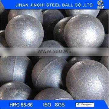 casting grinding alloy steel ball with low breakage