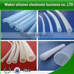 High temperature resistant very flexible silicone tube