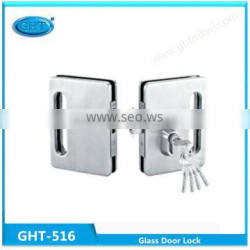 Chinese door locks manufacturers stainless steel glass door sliding glass door push lock