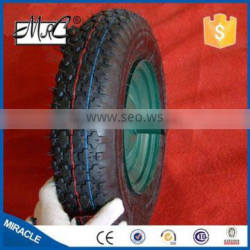 Hot sell 4.00-8 nylon gaseous rubber wheel