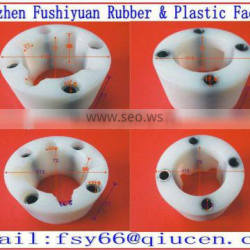 White Couplings complete Nylon bearing connectors plastic connector with 4 holes couplings for Machines