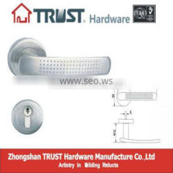 LH011:Trust Stainless Steel Solid Lever Handle with Escutcheon