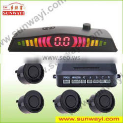 LED display anti-collision parking sensor
