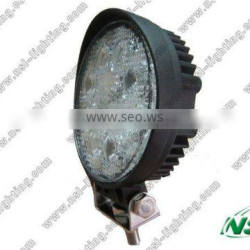 24W LED Spot Work Light/Round 24W LED Work Lamp/LED Flood Light
