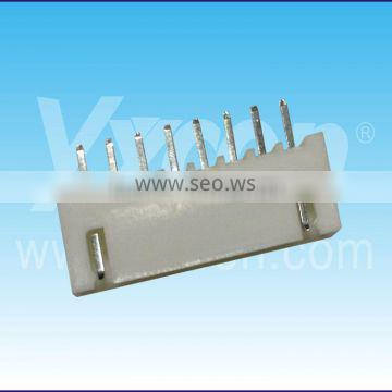 8 pin single row straight wafer connector
