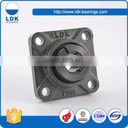 High speed long life M10 4 bolt flange pillow block bearing ucf205