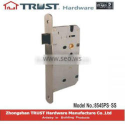 TRUST 85X45mm High Security Mortise passage function lock body