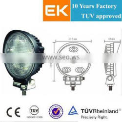 EK Spot/Flood beam 10-30VDC offroad 18w led work light