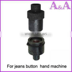 button and eyelets die sets mould sets for manual and automatic machine