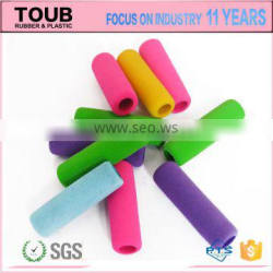 High Quality Colorful SOFT NBR Rubber Foam Pencil Grip kids