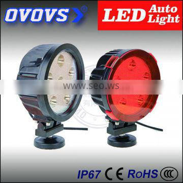 OVOVS 7inch 60w led auto driving light with waterproof IP68 for trucks cars 4X4