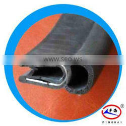 Rubber seals for armor plate